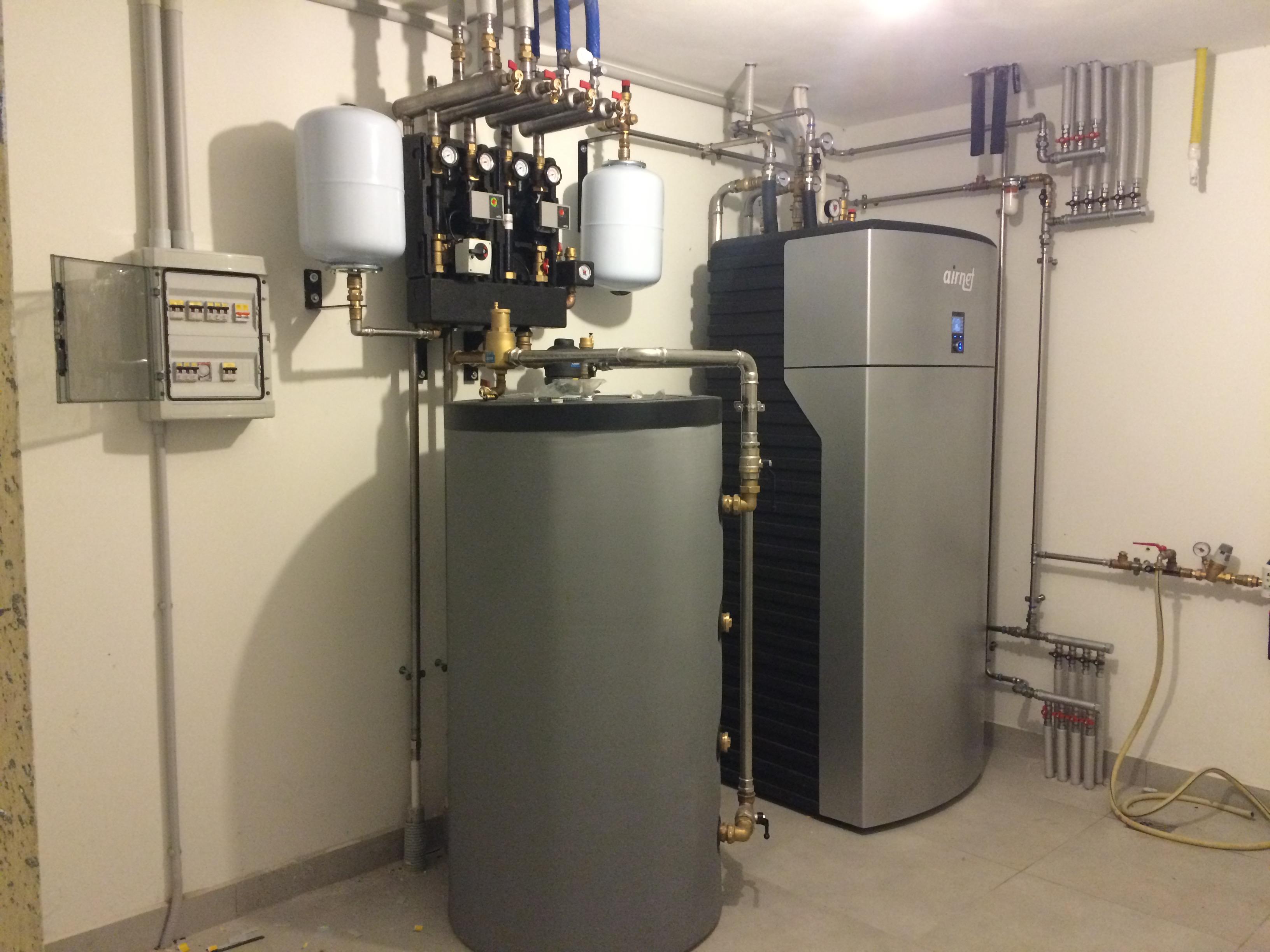 Pompa Di Calore Ventilconvettori abitazione privata | studio termotecnico gabrielli